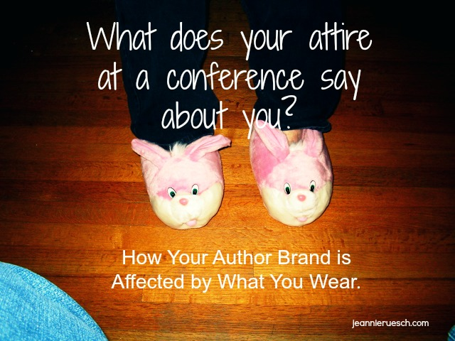 What does you attire say about you as a writer?