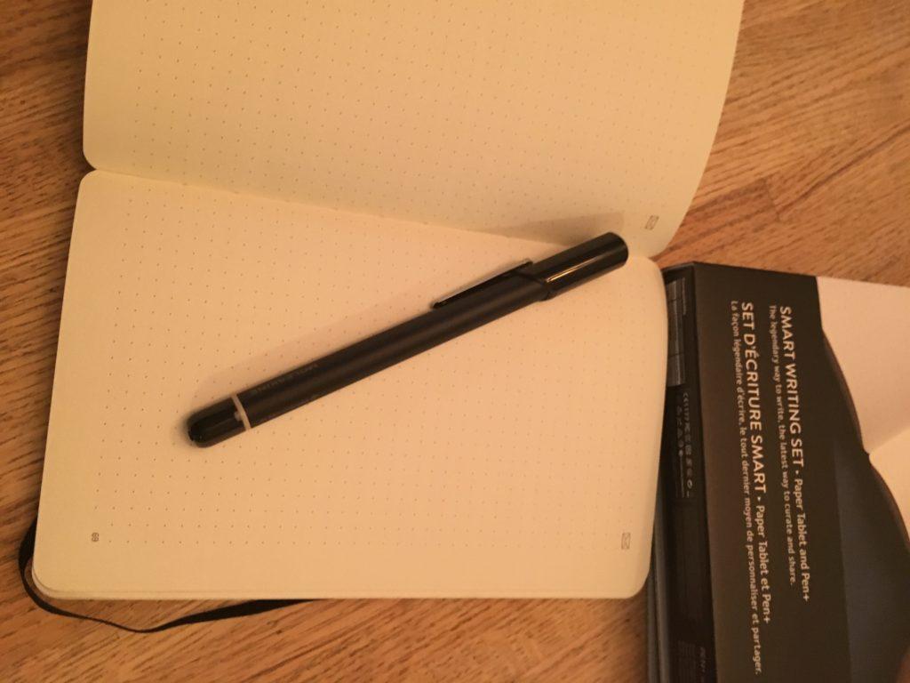 Moleskin Smart Writing set paper tablet
