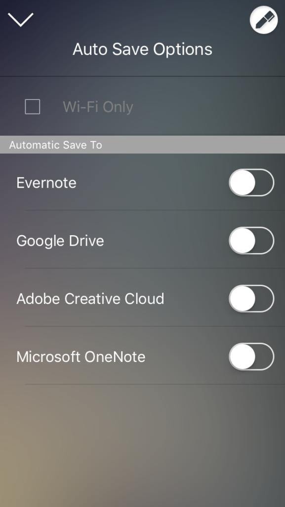 Moleskin app Evernote
